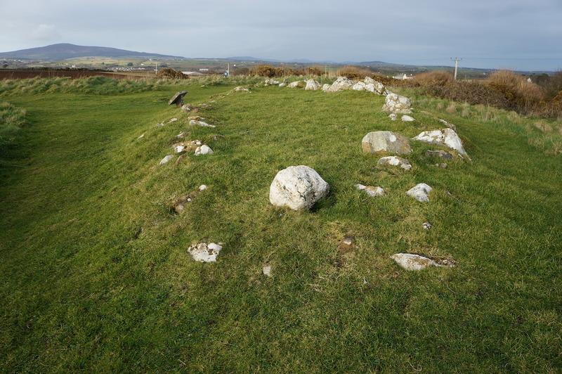 The Viking Age boat burial at Balladoole, Isle of Man.