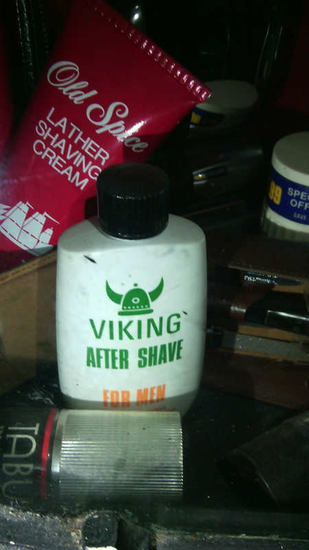Vintage Viking Aftershave