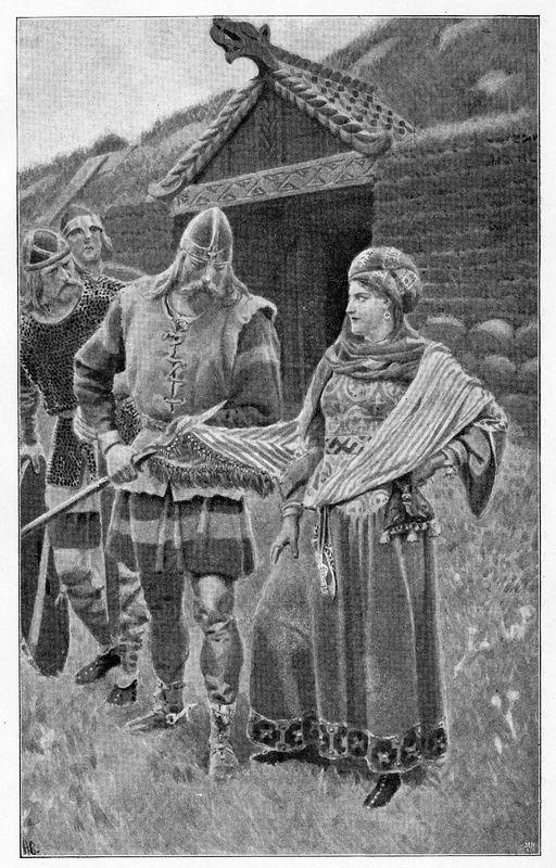 Guðrún and Helgi in Laxdæla Saga