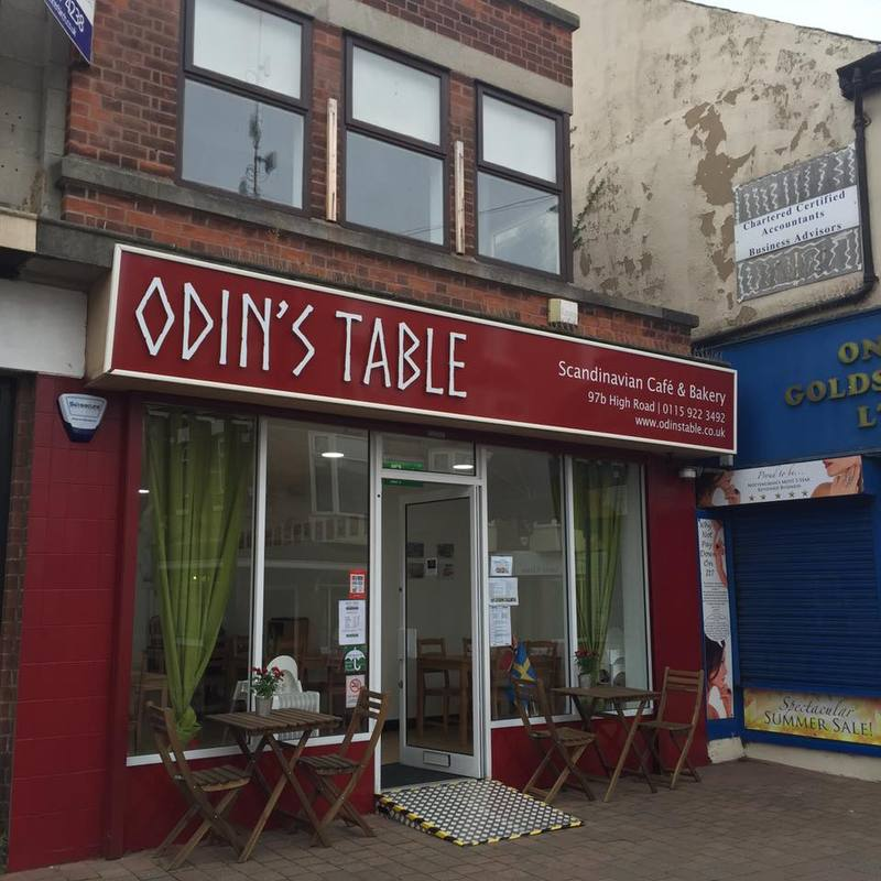 Odin's Table Scandinavian Cafe and Bakery in Nottingham