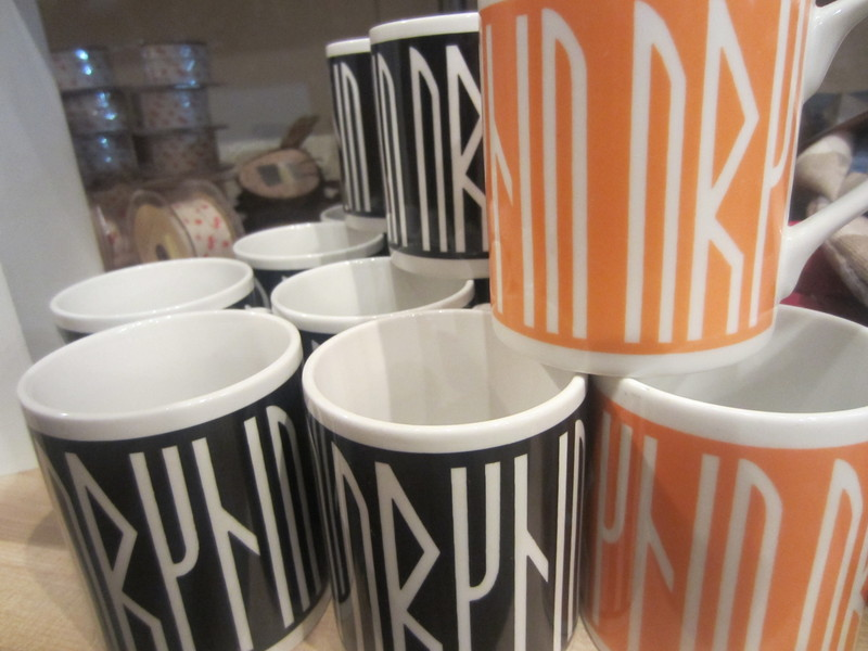 Souvenir Runic Mugs from Orkney