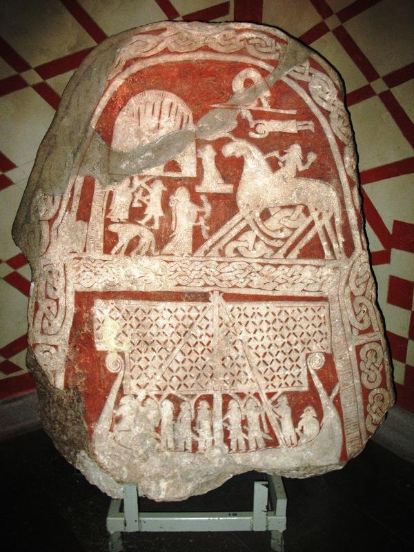 Picture stone from Tjängvide, Gotland, Sweden