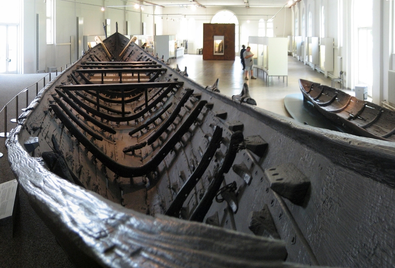 The Nydam Boat in Gottorf Castle