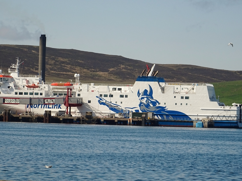 Northlink Ferry in Lerwick, Shetland