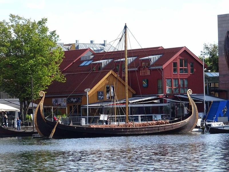 Reconstructed Viking Ships