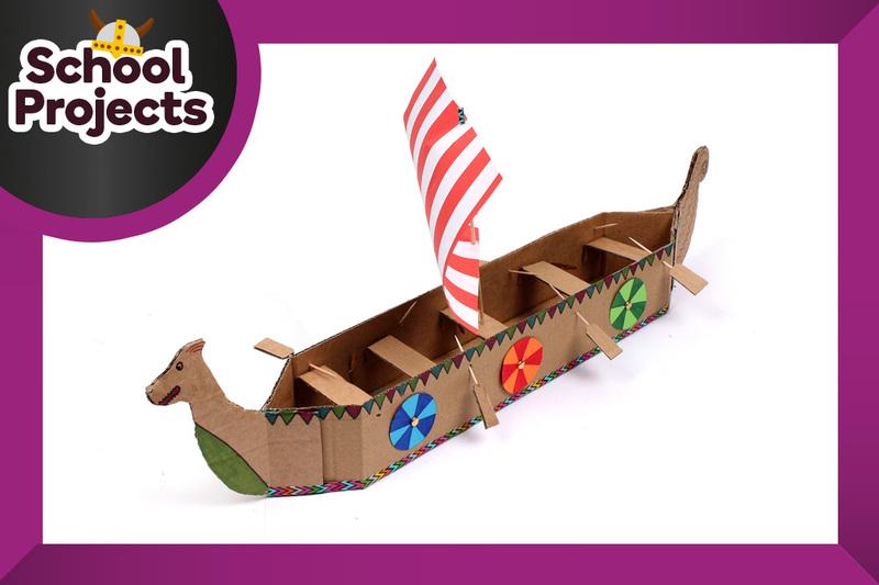 Craft: How to Make a Viking Longboat