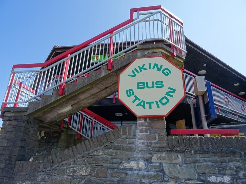 Viking Bus Station in Lerwick, Shetland