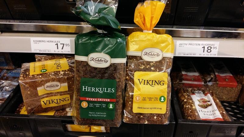 Viking rye bread