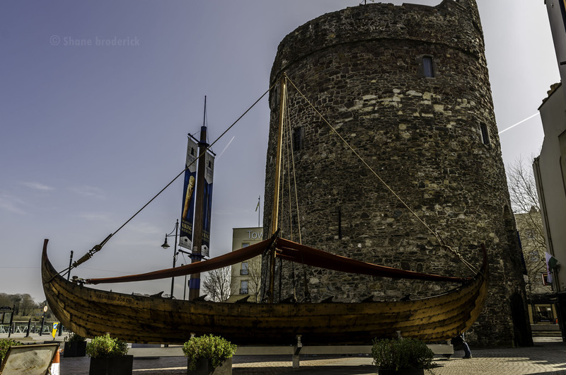 Viking Ship in Waterford