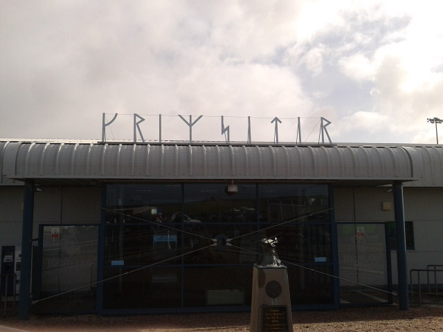 Runes at Kirkwall Airport