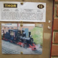 Train Named Thor at Moors Valley Park