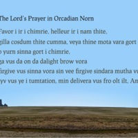 Lord's Prayer in Orcadian Norn.jpg