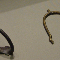 Stirrup and spur in the National Museum of Ireland