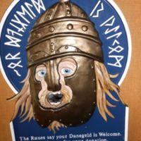 Runic donation box, Orkneyinga saga Centre, Orphir