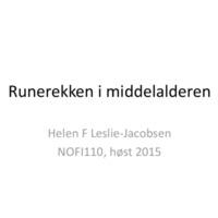 Runerekken i middlealderen powerpoint.pdf
