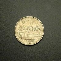 Norwegian 20 Kroner Coin