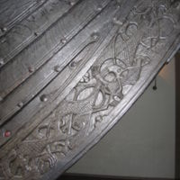 Detail from the Oseberg Ship