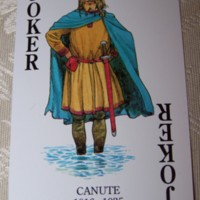 King Canute - Joker card in Kings of England playset