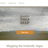 Icelandic Saga Map Project