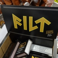 Filt (Cigarette Filter Papers) with Runic Lettering