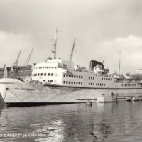 """M/S """"HOLGER DANSKE"""" på Oslo Havn / The Danish Ship 'Holger Danske' in Oslo Harbour"""
