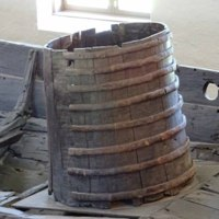 Barrel on the Oseberg Ship