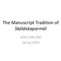 The Manuscript Tradition of Skáldskaparmál.pdf