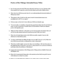 Poetry of the Vikings Essay Questions 2014.pdf