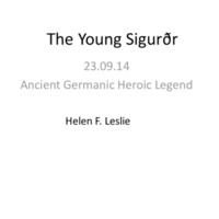 The Young Sigurðr powerpoint.pdf