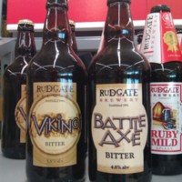 Viking & Battle Axe Bitter Ale by Rudgate Brewery