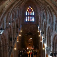 View from the Gallery of St. Magnus Cathedral, Kirkwall