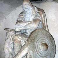 Statue of Holger Danske by H.P. Pedersen-Dans
