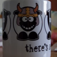 Sheep-ish There's Always One - Viking Sheep Mug