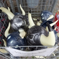 Assorted Horned Helmets for sale in Ribe
