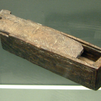 Wooden Box in the National Museum of Ireland