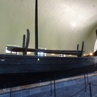 Oars on the Oseberg Ship