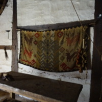 Tapestry featuring Yggdrasill in Ribe VikingCenter