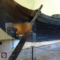 Steering Oar of the Oseberg Ship