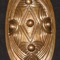 Replica of the Fröjel brooch (Photo: Mikael Lindmark)