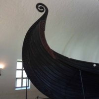 Detail of the Stem Ornament on the Oseberg Ship
