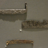 Saw Blades and a Draw-Knife Blade in the National Museum of Ireland