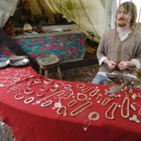 Silversmith at Ribe VikingCenter