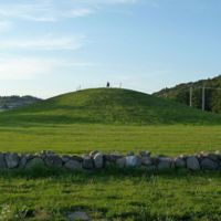Gokstadhaugen - The mound at Gokstad