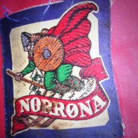 Logo of Norrøna Sport on a Sailing Jacket
