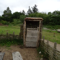 Viking Privy at Ribe VikingCenter
